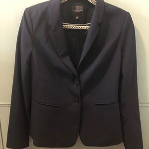 The Limited Navy Blue Suit Jacket